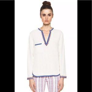 Etoile Isabel Marant sz 42 us 10 embroidered shirt